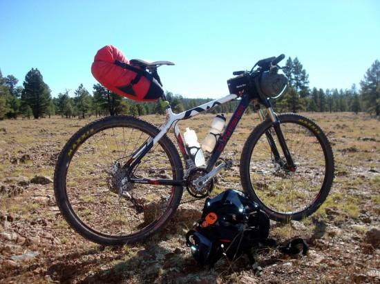 Bikepack set up